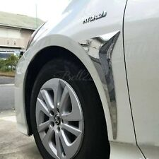 For Toyota Prius 2016 2017 Exterior Parts ABS Chromed Front Anti-Rub Protection
