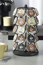 Keurig 35 K Cups Pod Carousel Holder Coffee Storage Organizer Cup Rack Black NEW