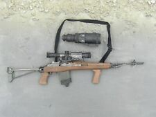 1/6 Scale Toy US Navy Seal - 7.62 M-14 Sniper Rifle w/Folding Stock & Scope