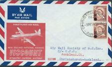 NEW ZEALAND - 1958 'VISCOUNT AIRWAYS - Introduction of Jet Airmail' FDC [A1603]