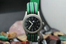 L.L. Bean Hamilton Quartz All Stainless Steel Wrist Watch Running