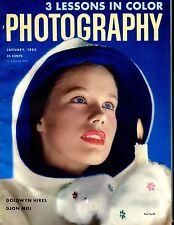Photography Magazine January 1953 Gjon Mili EX No ML 052217nonjhe