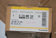 Junkers BOSCH 87290002460 8729000246 MANOMETRO Zb Zwb 18 24a KB 18 24-7e... NUOVO