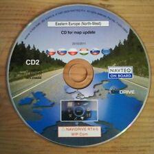 Navigazione CD rt4-5/Europa dell'Est Nord-Occidentale CZ H PL SK SL 2010/2011 PEUGEOT CITROEN