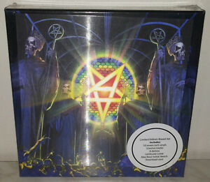 "BOX 10 x 7"" ANTHRAX - FOR ALL KINGS  - LIMITED - NUOVO NEW"