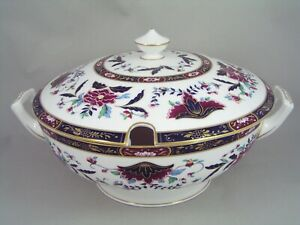 VERY RARE ROYAL WORCESTER PRINCE REGENT LARGE LIDDED SOUP TUREEN, lid a/f.