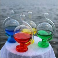 Glass Barometer Globe Weather Forecast Storm Bottle Meteorology Decoration Arts