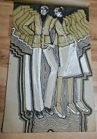 Vintage RISD Apparel Design Poster Picture fashion Man & Woman drawing 1960's