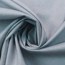 BALLARD DESIGNS IDOL FROST BLUE CANVAS SUNBRELLA OUTDOOR INDOOR FABRIC BY YARD
