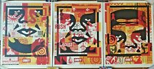 Shepard Fairey (OBEY) - Obey 3-Face Collage - Open Edition - SIGNED - 2021