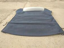 MERCEDES W209 CLK CONVERTABLE ROOF Soft Top COVER IN BLUE WITH GLASS
