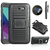 Ring Armor Kickstand Holster Cover Case For Samsung Galaxy J3 2017/Emerge/Prime