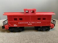 American Flyer Lines 24636 NMH BLT6-51 S Scale Caboose Model Train Railroad RR