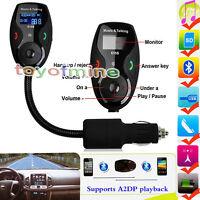 Kit de voiture Bluetooth stéréo LCD Transmetteur FM Lecteur MP3 pour iPhone LG