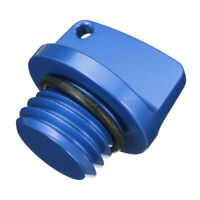 CNC Oil Filler Cap Plug Blue For Honda Yamaha Kawasaki Ninja Z1000 Z800 ZXR750R