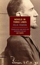 Novels in Three Lines (New York Review Books Classics) by Fénéon, Félix