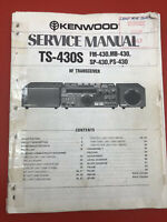 Original Kenwood TS-530S Radio HF Transceiver Service Manual