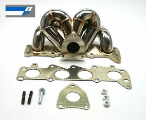 BP 3mm thick Stainless Steel Tubular Manifold For 2012-14 Ford Fiesta ST180 1.6T