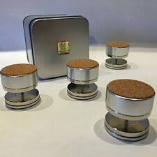Magnetic levitation feet for hifi isolation 4x15Kg load