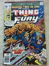 Marvel Two-In-One #26 *The Fixer And Mentallo Are Back! Nick Fury Appearance*