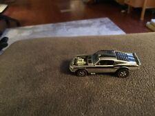 Redline Hot Wheels1969 Chrome Mustang Boss HossHONG KONG extremely nice