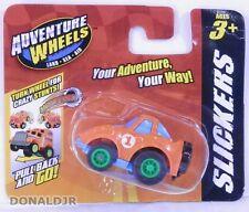 '70s Chevrolet Corvette Orange Vette Adventure Wheels Slickers Micro Pull Back
