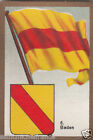 Deutschland Germany BADEN DRAPEAU FLAG IMAGE CARD 30s