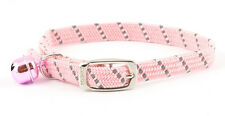Ancol 673350 Softweave Safety Elastic Cat Collar - Pink