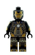 Custom progettato minifigura-Ironman Ossa MARK 41 stampato su parti Lego