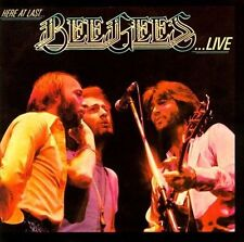 THE BEE GEES - Here At Last: The Bee Gees Live Concert Rare CD Barry Gibb