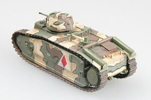 Easy Model - Char B1 May 1940 France 3nd Company Finshed 1:72 Trumpeter New