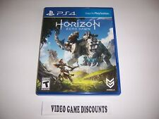 Original Box Case Replacement Sony PlayStation 4 HORIZON ZERO DAWN