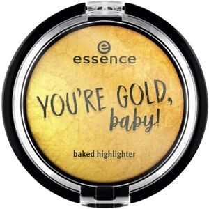 ESSENCE You're Gold Baby Baked Highlighter 01 My Gold - Metallic Shimmer Powder