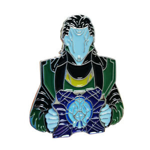 Loki God of Mischief Action Figure Cosplay Enamel Brooch Pin Badge Free Shipping