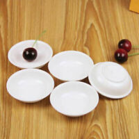 10x Sauce Dishes Food Dipping White Break-resistant Appetizer Plate