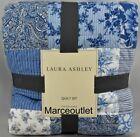Laura+Ashley+Home+Paisley+Patchwork+FULL+%2F+QUEEN+Quilt+%26+Pillowshams+Set+Blue