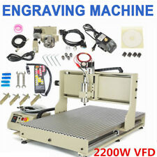 4 Axis Usb Cnc 6090 Router Engraving Machine Milling Cutting Machine 22kw Rc