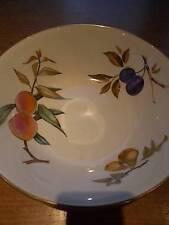 """RARE Royal Worcester Inghilterra Porcellana Fine Evesham modello grande ciotola frutta 10"""""""
