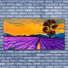 Leinwand-Bilder Wandbild Leinwandbild 140x70 Feld Landschaft