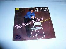 "FRANK AFFOLTER - The way to love - 1985 Dutch 7"" Juke Box Vinyl Single"