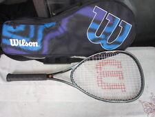 """Wilson Tennis Racquet Graphite Kannon Fire Xlb 28"""" Long W/Case Excellent"""