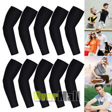 10 Pairs Cooling Arm Sleeves Cover Basketball Golf Sport UV Sun Protection Men
