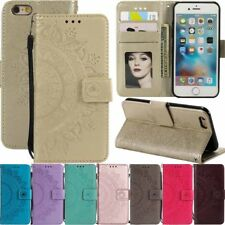 for iPhone 12 Pro Max Mini 11 XR SE 8 6s Magnetic Flip Wallet Leather Case Cover