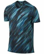 $55 Men's Nike Breathe Printed Running Top Size Large  Style 833138 432
