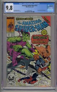 AMAZING SPIDER-MAN #312 CGC 9.8 GREEN GOBLIN VS HOBGOBLIN