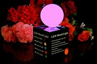 LED Mood Ball Lamp - 7cm Colour Changing Sphere Orb Globe Light for Party