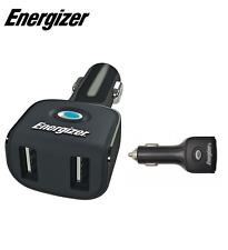 Energizer Doble USB Coche, Vehículo Adaptador y Cargador - 12V