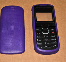 COVER HOUSING COMPATIBILE per NOKIA 1202 VIOLA CON TASTIERA