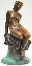 "Norman Lindsay ""Seated Nude"" original bronze sculpture SCARCE LIMITED EDN"