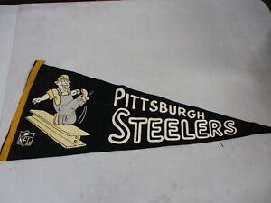 Vintage Pittsburgh Steelers Pennant
